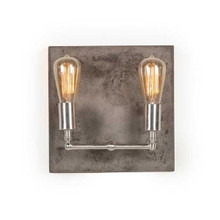Rochester Aged Nickel Wall Sconce