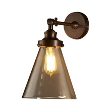 Francis Antique Brass Wall Lamp