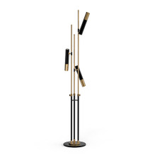 Replica Delightfull Ike Standing Floor Lamp Brass