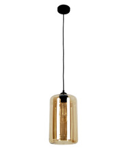 Glass Oblong Pendant Light