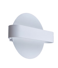 Sun Bind LED Interior Wall Light - Matte White