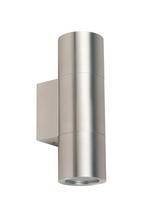 Modern Sleek Up Down Pillar Exterior LED Wall Light