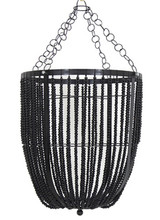 Bead Pendant Black