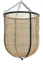 Rattan Bowl Pendant Light
