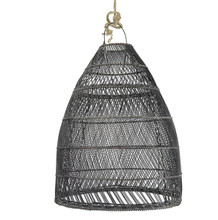 BELL SHAPED PENDANT - BLACK