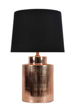 Ting Copper Black Table Lamp