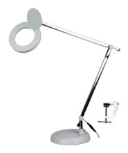 Contemporary LED Magnifier Table Lamp