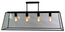 Glass Cage Retro 4 Light Pendant Light