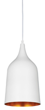 Rio White Gold Pendant Light