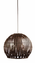 Bali 36 Pendant Light-Brown