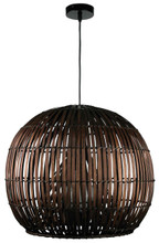 Bali 72 Pendant Light-Brown