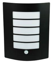 Che Outdoor Sensor Wall Light-Black