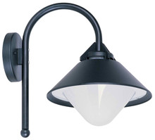 Coventry Black Opal Exterior Wall Light