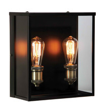Spring Hampton Outdoor 2 Wall Light