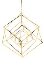 Spatial Gold Pendant Light