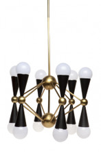 Quincy 12 Arm Chandelier