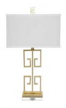 Acropolis Gold Table Lamp