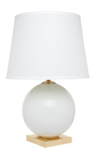 Bocce White Table Lamp