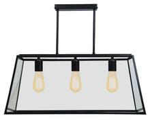 Glass Cage Retro 3 Light Pendant Light