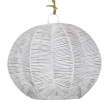 Spherical Rattan Pendant