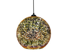 Javarone Round Pendant Light - Copper