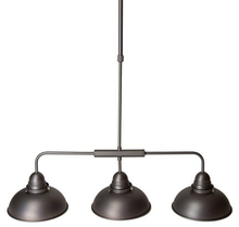 Manor 3 Light Pendant Light - Antique Chrome
