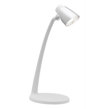 Skope LED Task Desk Lamp with Silver Head