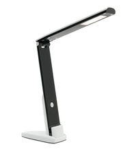 Devo LED Compact Adjustable Task Lamp in Black
