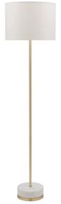 Leni Marble Brass Floor Lamp