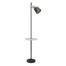 Arizona 1 Light Mesh Floor Lamp with Table