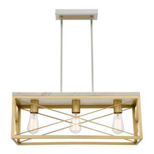Claudia 3 Light Bar Pendant Light