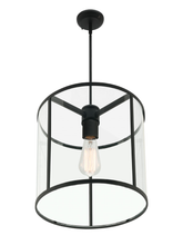 Liverpool 1 Light Round Pendant