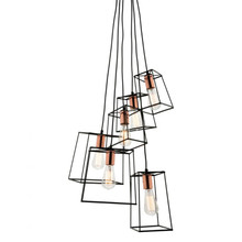 Zap 6 Light Cluster Pendant Light