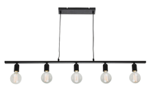 Industrial 5 Light Bar Pendant Light