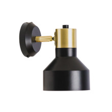 Industry Wall Light in Black