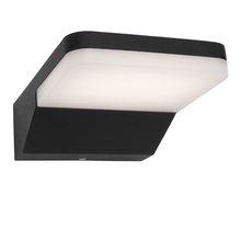 Dromana Black Opal LED Exterior Wall Light