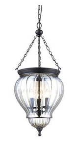 Diana Glass Jar Lantern Pendant Light