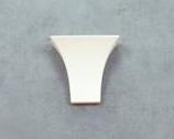 Wide Torch Ceramic Wall Bracket Light
