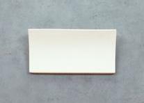 Rectangular Ceramic Wall Bracket Light