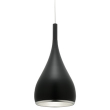 Aero Modern Drop Pendant Light - Black