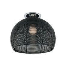 Arden Dome Ceiling Light - Black