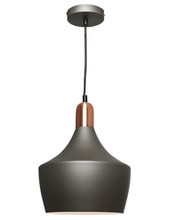 Bevo Angled Bell Pendant Light - Copper