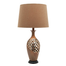 Blomeley Antique Gold Table Lamp