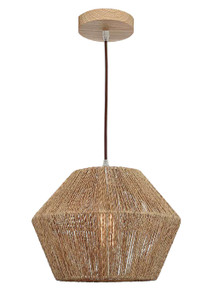 Cassie Small Natural Thread Pendant Light