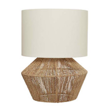 Cassie Natural Thread Table Lamp