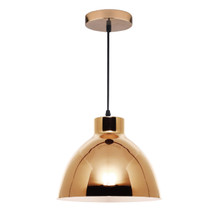 Dexter Metal Dome Pendant Light - Gold