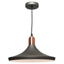 Dusty Industrial Pendant Light - Copper