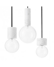Carrara Marble Pendant Light