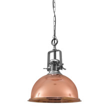 Castle Copper Pendant Light