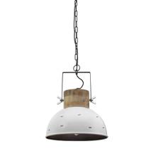Cantina Timber And Steel Pendant Light